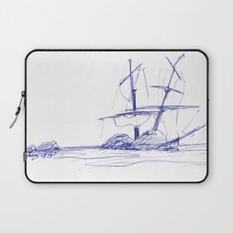 Ship Wrecked Laptop Sleeve