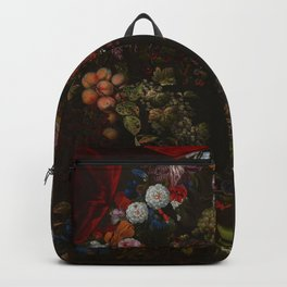 "Johnny van Haeften ""A garland of flowers and fruit"" Backpack"