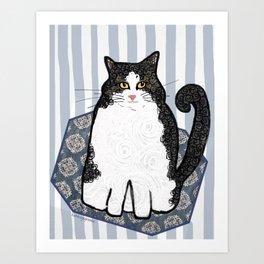 Jake CatDoodle Art Print