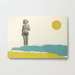 Ice Lolly Metal Print
