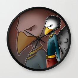 Garudá, snakes' eater Wall Clock
