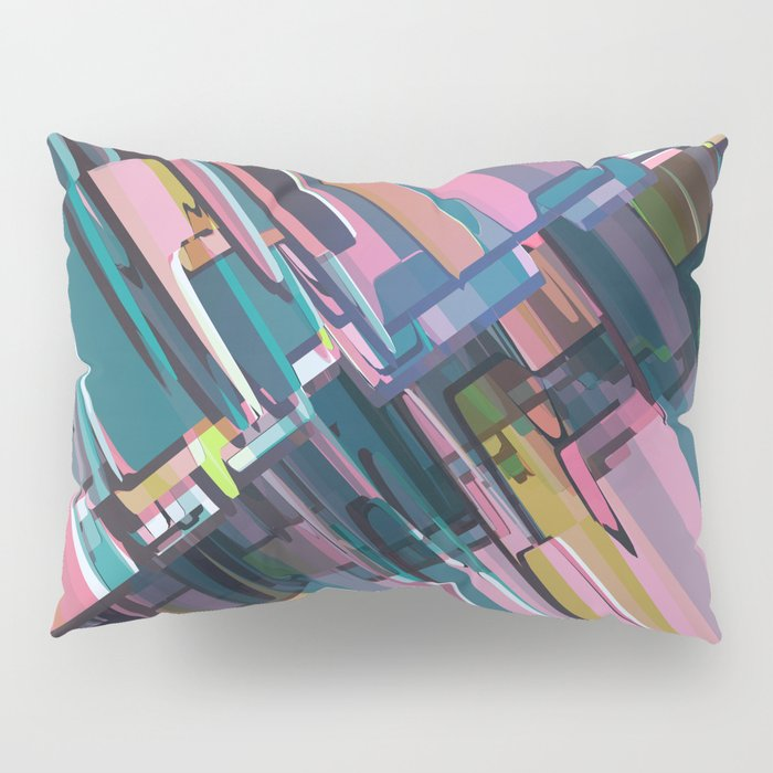 Abstract Composition 637 Pillow Sham
