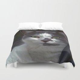 A Domestic Cat Duvet Cover