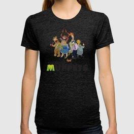 Drunk Muppets Cartoon Parody T-shirt