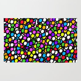 Bubble GUM Colorful Balls Rug