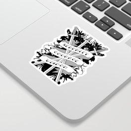 Serenity, Courage & Wisdom Sticker