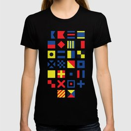 The International Code of Signals T-shirt