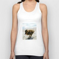 stockholm Tank Tops featuring Stockholm Chick by GardenGnomePhotography