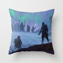 1920 - the expedition Throw Pillow