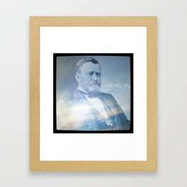 Superstitions. Grant. 1822-1885. Framed Art Print