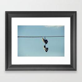 Somerville Road Framed Art Print