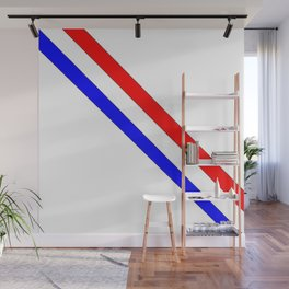 Flag of France 8- France, Français,française, French,romantic,love,gastronomy Wall Mural