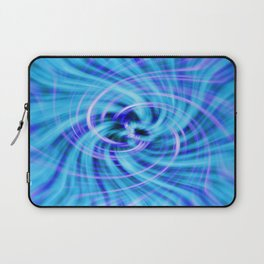 Blue twirl Laptop Sleeve
