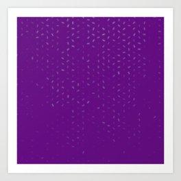 cancer zodiac sign pattern pt Art Print