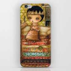 Sleepless Nights With The Princess And The Pea iPhone & iPod Skin