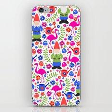 Gnome Garden iPhone & iPod Skin