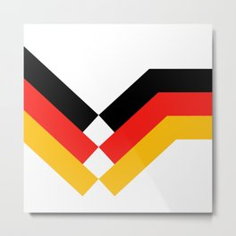 Soccer Germany 1990 Metal Print