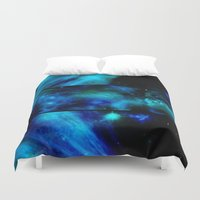 malachite Duvet Covers featuring Windows To A Space View by minx267