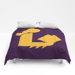 Lady Bat Reads Comforters