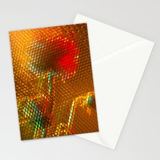 Floral Honeycomb Sunshine Stationery Cards