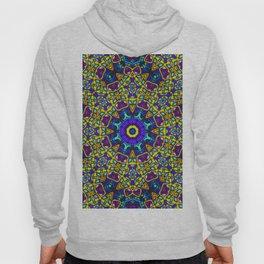 Persian kaleidoscopic Mosaic G522 Hoody