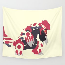 Primal Groudon Wall Tapestry