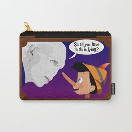 Voldemort meets Pinocchio Carry-All Pouch