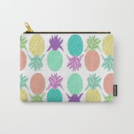 pineapple white  Carry-All Pouch