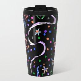 Black-White magic Travel Mug