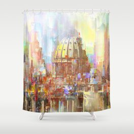 St. Peter's Basilica Shower Curtain