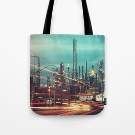 Road to the Refinery Tote Bag