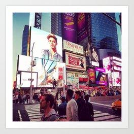New York: Times Sqaure Art Print