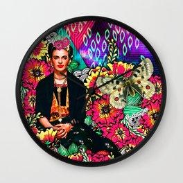 Galaxy Frida Wall Clock