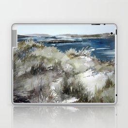 Cold seashore grass Laptop & iPad Skin