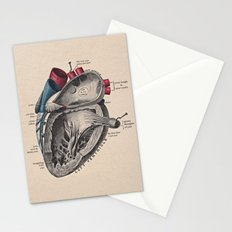 My Heart Beats for You Stationery Cards