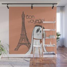Bon Voyage! Wall Mural
