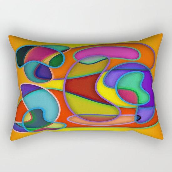 Abstract #359 Rectangular Pillow