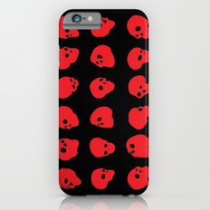 redhead - red on black Slim Case iPhone 6s