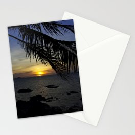 Tropical Dusk Stationery Cards