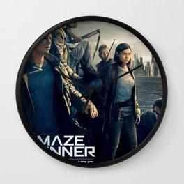 The Maze Runner Wall Clock
