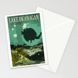 Canada's Cryptids' #2 Stationery Cards