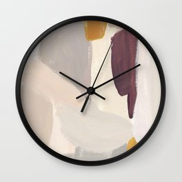Plumb Crazy Wall Clock