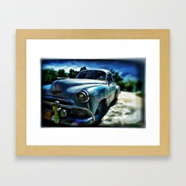 Old Chevrolet Framed Art Print