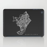 barcelona iPad Cases featuring BARCELONA by Nicksman
