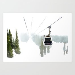 Whistler Blackcomb Art Print