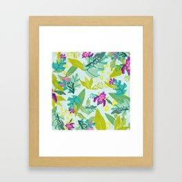 Tropical Retreat Framed Art Print