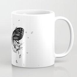 Geometric Butterfly - B&W Coffee Mug
