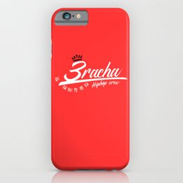 3RACHA HIPHOP CREW iPhone Case