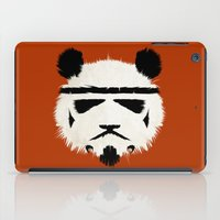 panda iPad Cases featuring Panda Trooper by Danny Haas