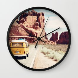 Endless Explore to the World Wall Clock